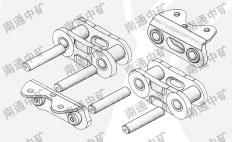 >> zyl中央链斗式提升机     南通中矿采用优质可拆式摸锻中央链结构图片